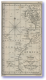 England to The Cape Verd Islands - 1877 (Nories Navigation - Published: 1877) 600 DPI