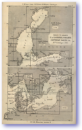 Gulf of Bothnia Finland Cattegat Baltic - 1877 (Nories Navigation - Published: 1877)