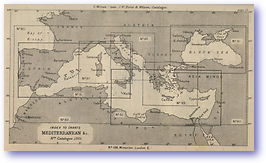 Mediterranean - 1877 (Nories Navigation - Published: 1877)