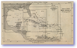 West Indies - 1877 (Nories Navigation - Published: 1877) 600 DPI