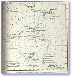 Antarctica Regions - 1914 (Geographical Journal - Published: 1914) 600 DPI
