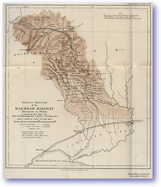 Baghdad Railway Taurus Mountains Turkey - 1914 (Geographical Journal - Published: 1914)