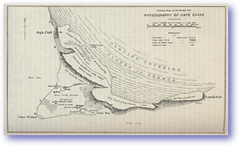 Physiography Cape Evans East Antarctica - 1914 (Geographical Journal - Published: 1914)