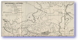 Austrian Borders Post St Germain En Laye Treaty - 1919 (Geographical Journal - Published: 1919) 600 DPI