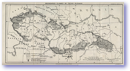 Cecho Slovakia Boundaries Post Treaty of Versailles - 1919 (Geographical Journal - Published: 1919)