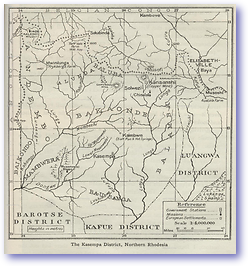 Kasempa Northern Rhodesia - 1919 (Geographical Journal - Published: 1919)