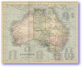 Australia - 1881 (Gallery of Geography - Published: 1882) 600 DPI