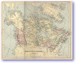 Dominion of Canada - 1881 (Gallery of Geography - Published: 1882) 600 DPI