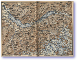 Bernese Oberland - 1881 (Switzerland - Published: 1881) 600 DPI