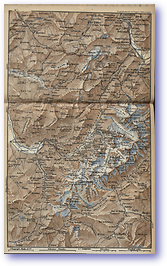 Chamouny Valley - 1881 (Switzerland - Published: 1881) 600 DPI
