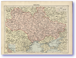 Eukrainia - 1920 (Peoples' Atlas - Published: 1920) 600 DPI