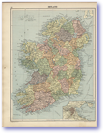 Ireland - 1920 (Peoples Atlas - Published: 1920)