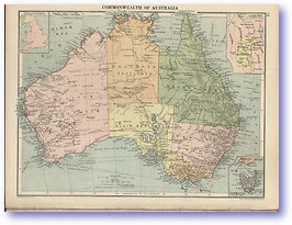 Commonwealth of Australia - 1920 (Peoples' Atlas - Published: 1920) 600 DPI