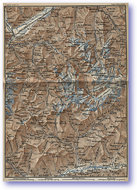 Great St Bernard Area - 1881 (Switzerland - Published: 1881) 600 DPI