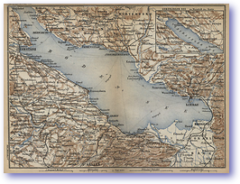 Lake Constanz - 1881 (Switzerland - Published: 1881) 600 DPI