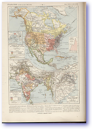 United States of America - 18th Century - 19th Century (Atlas General Histoire et Geographie - Published: 1912)