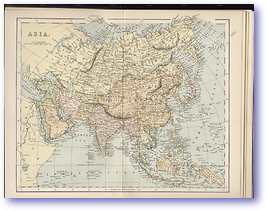 Asia - 1870 (Gallery of Geography - Published: 1870)