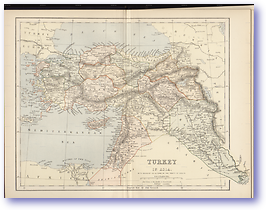 Turkey - 1881 (Gallery of Geography - Published: 1882) 600 DPI