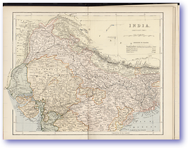 Northern India - 1881 (Gallery of Geography - Published: 1882) 600 DPI