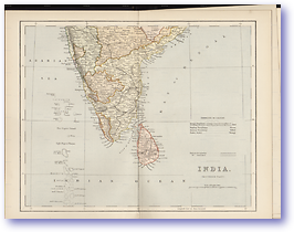 Southern India - 1881 (Gallery of Geography - Published: 1882) 600 DPI