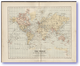 The World - 1846 (Gallery of Geography - Published: 1846) 600 DPI