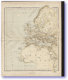 Ancient Europe and Northern Africa - 1846 (Gallery of Geography - Published: 1846)