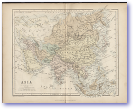 Asia - 1846 (Gallery of Geography - Published: 1846)