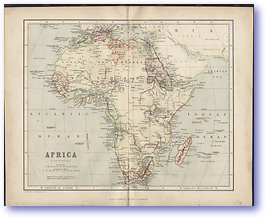 Africa - 1846 (Gallery of Geography - Published: 1846) 600 DPI