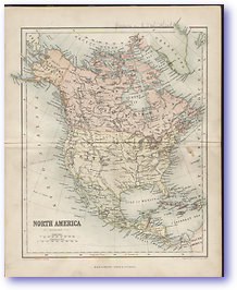 North America - 1846 (Gallery of Geography - Published: 1846) 600 DPI