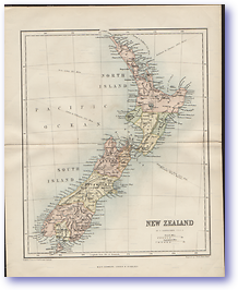 New Zealand - 1846 (Gallery of Geography - Published: 1846)