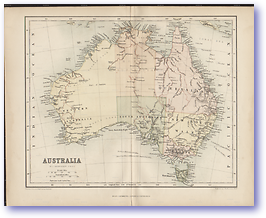Australia - 1846 (Gallery of Geography - Published: 1846) 600 DPI