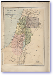 Palestine At The Time of Christ - 30 AD (Holy Bible - Published: 1899)