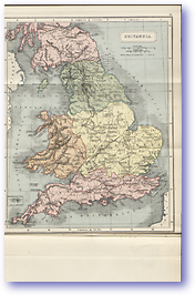 Britannia Britain - 1912 (Atlas of Ancient and Classical Geography - Published: 1912) 600 DPI