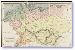 Germania Germany - 1912 (Atlas of Ancient and Classical Geography - Published: 1912) 600 DPI
