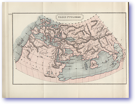 Orbis Ptolemaei The World of Ptolemy - 1912 (Atlas of Ancient and Classical Geography - Published: 1912) 600 DPI