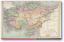 Asia Minor - 1912 (Atlas of Ancient and Classical Geography - Published: 1912)