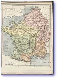 Gallia France - 1912 (Atlas of Ancient and Classical Geography - Published: 1912)