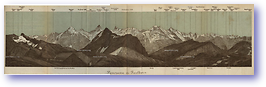 Panorama Du Faulborn - 1881 (Switzerland - Published: 1881) 600 DPI