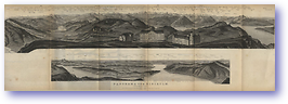 Panorama Rigikulm - 1881 (Switzerland - Published: 1881) 600 DPI