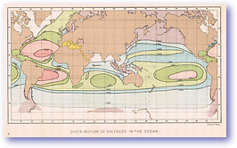 Ocean Salinity - 1886 (Our Earth and its Story - Vol 1 - Published: 1887) 600 DPI
