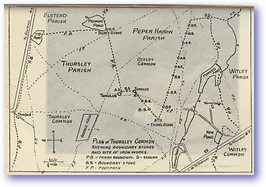 Thursley Common - 1950 (Ramblers Guide to Haslemere Hindhead And District - Published: 1950)