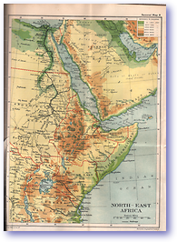 North East Africa - 1914 (Guide to South and East Africa - Published: 1914) 600 DPI
