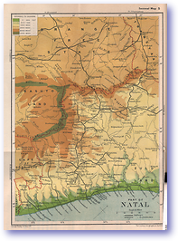 Natal - 1914 (The Guide to South and East Africa - Published: 1914)