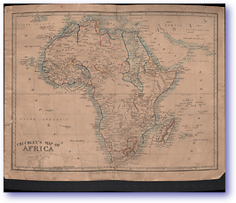 Cruchley's Map of Africa - Unknown (Miscellaneous Sheets - Published: Unknown)