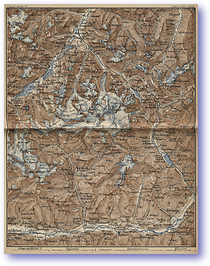 Upper Engadine and Bernina - 1881 (Switzerland - Published: 1881) 600 DPI