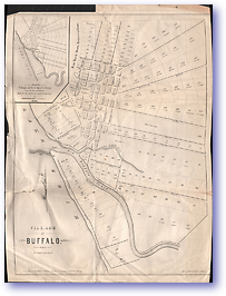 Village of Buffalo - 1804 (Miscellaneous Sheets - Published: 1804)