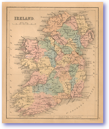 Ireland - 1866 (Black's School Atlas for Beginners - Published: 1866)
