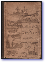 Castle Line Atlas of South Africa (Cover) - Published: 1895