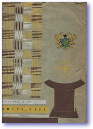 Portfolio of Ghana Maps (Cover) - Published: 1965