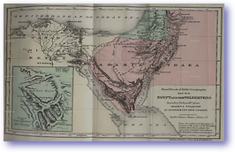 Egypt and the Wilderness - Time of Moses (Hand Book of Bible Geography - Published: 1870)